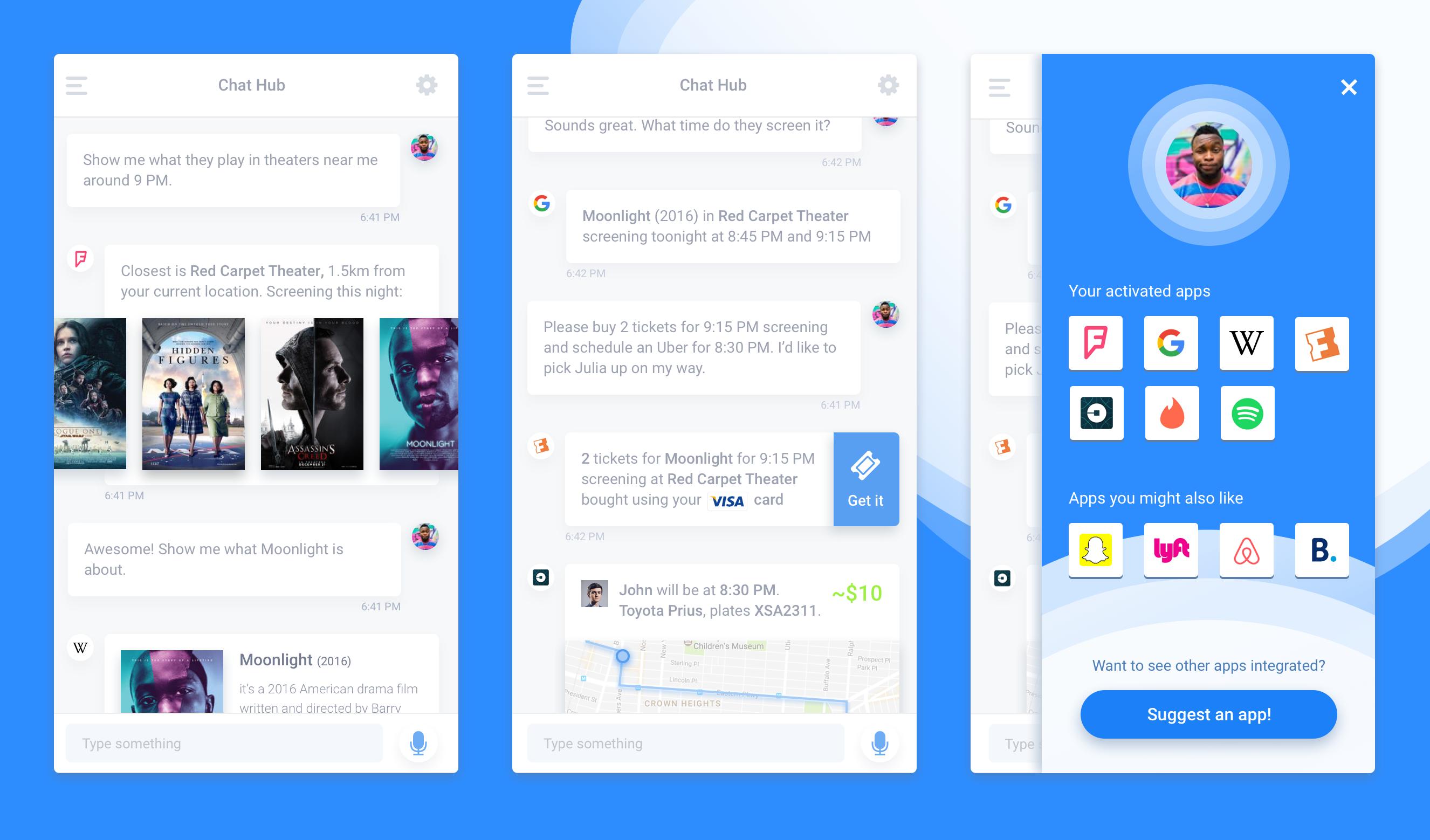 Conversational UI kit free
