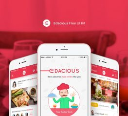 Edacious Free UI Kit For Web and Mobile