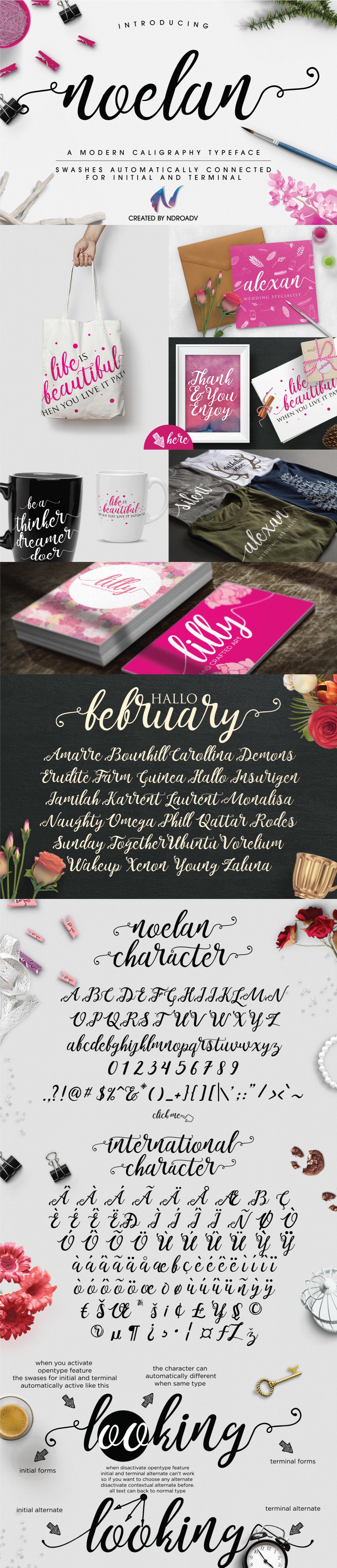 Noelan Modern Free Font For Designers