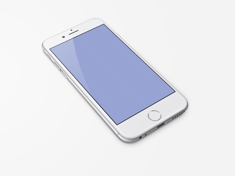 Free Iphone 6 47 Inch Template Psd Freebiesui
