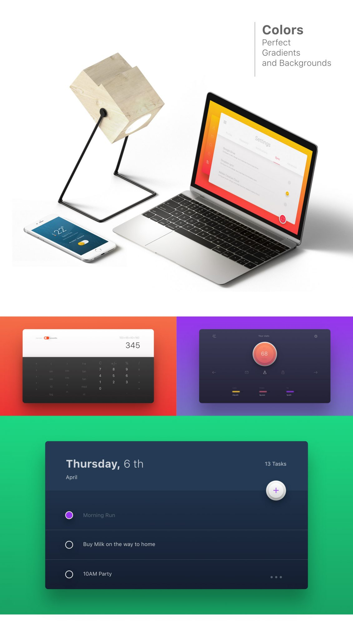 30 UI kits for Adobe XD - Minimal Design