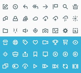 60 Vicons Icon Set for modern web and mobile projects