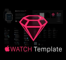 Apple Watch GUI Freebie