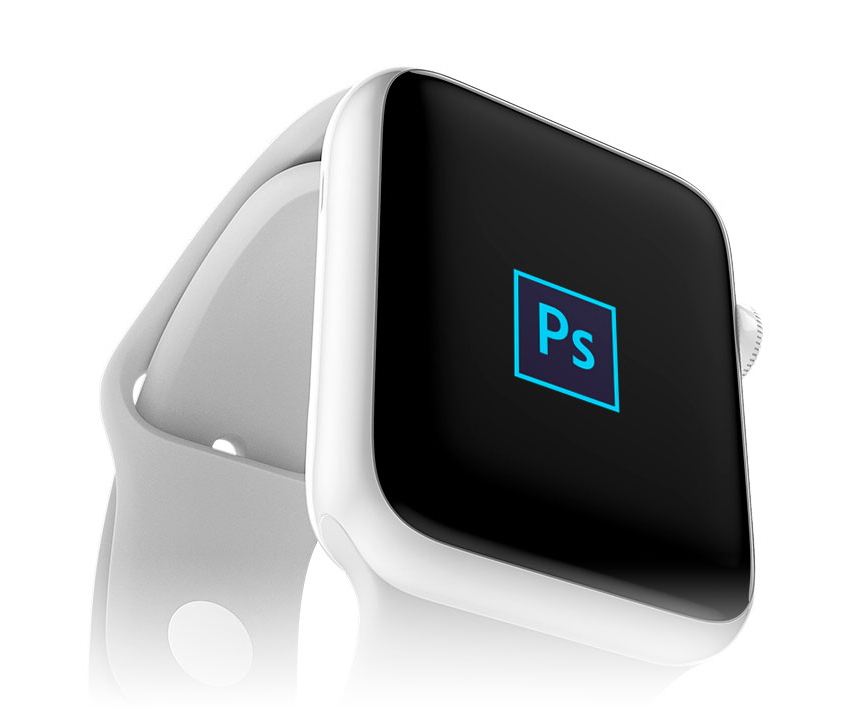 Apple Watch Edition Mockup for PSD