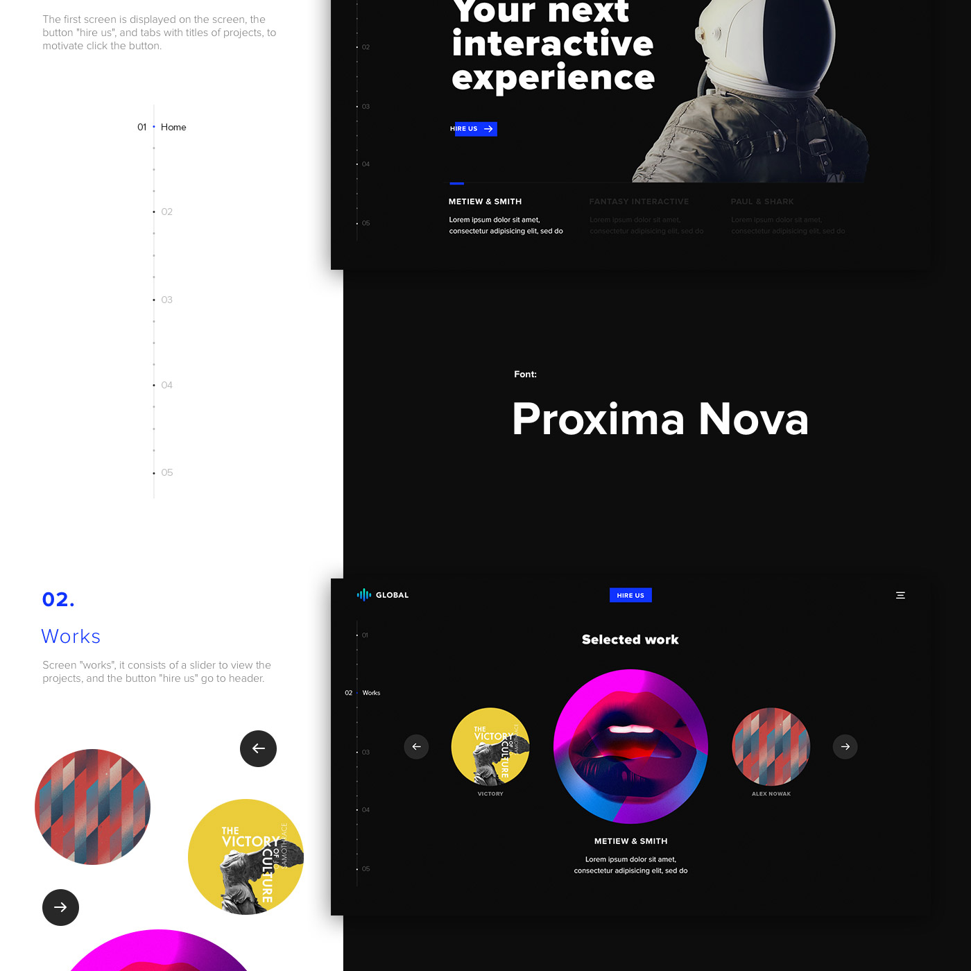 Clean and Minimal PSD template