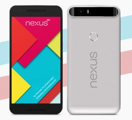 Google Nexus 6p Mockup device
