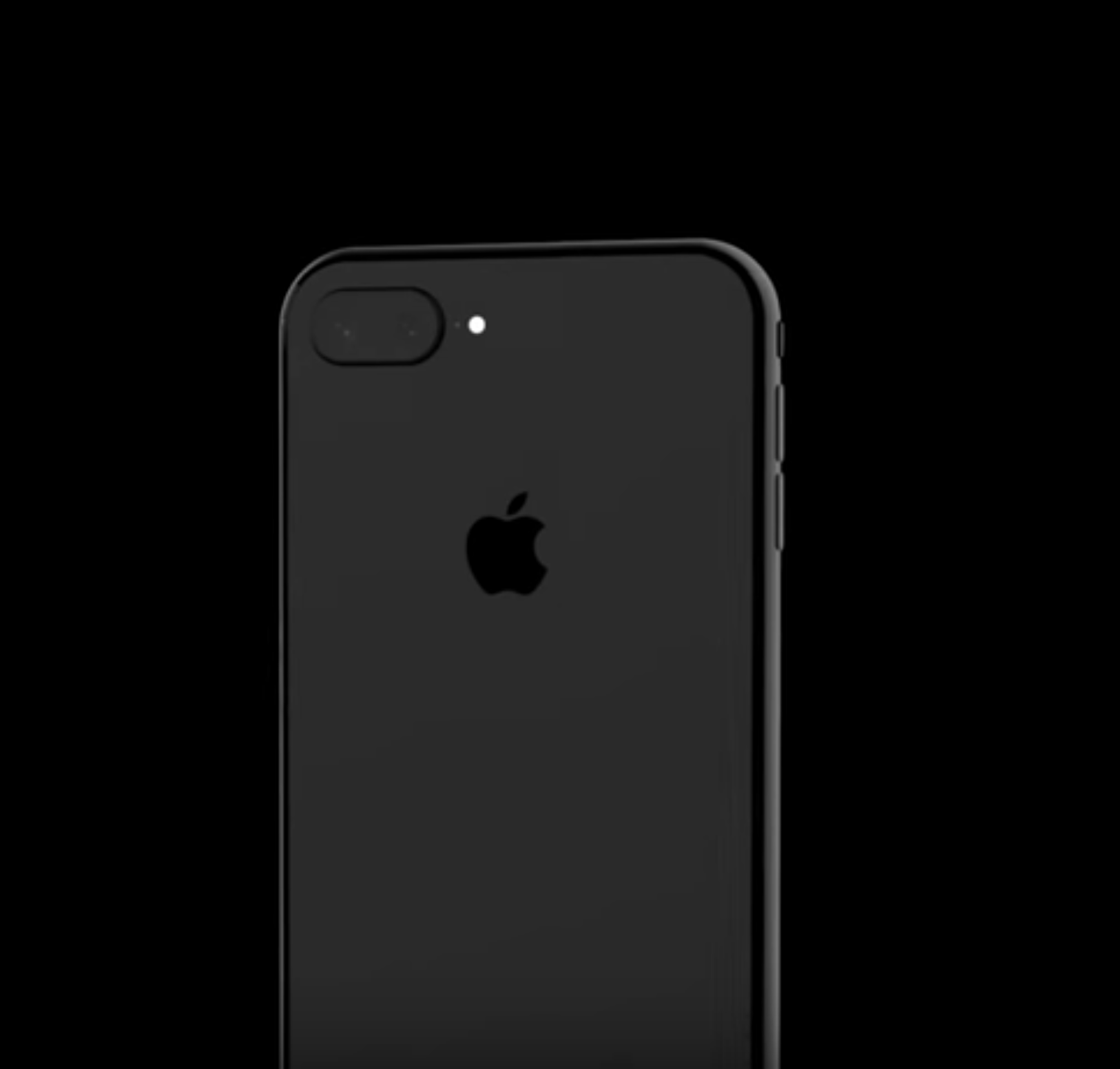 iPhone 8 Design Mockup Black