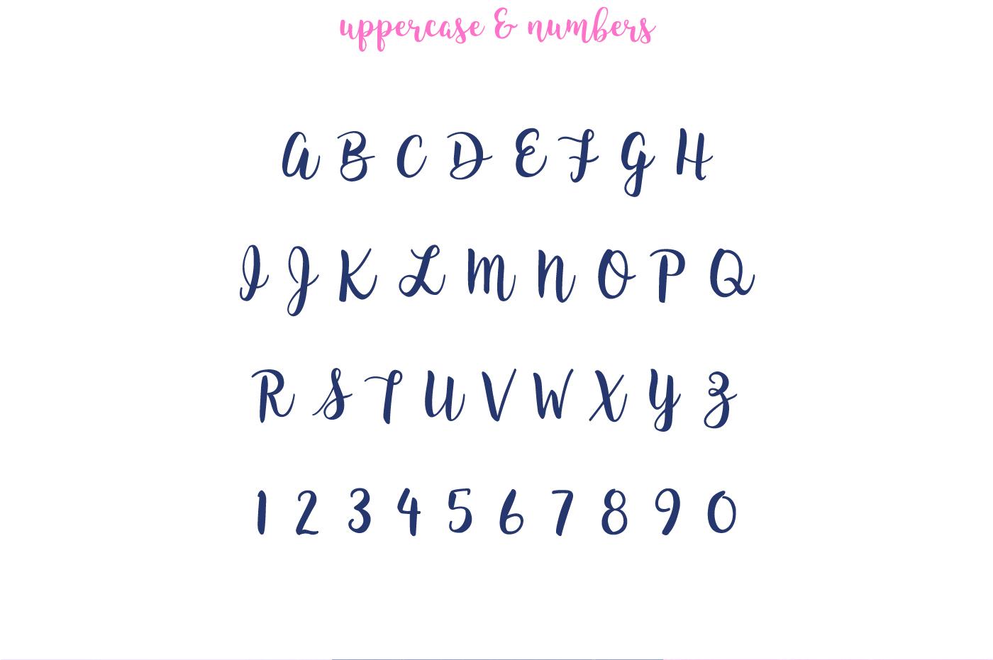 Free brush font- King Basil freebie