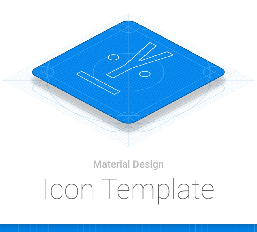 Android material design icon template for google play freebiesui pronofoot35fo Image collections