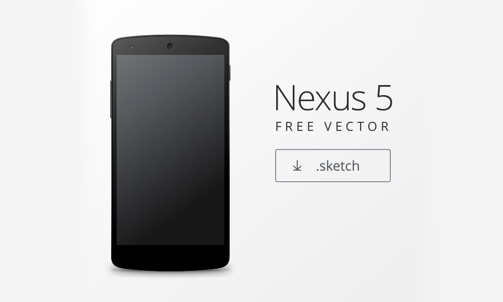 Android Vector Mockup Nexus 5