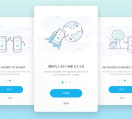 Onboarding Mobile App Screens