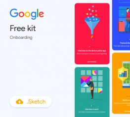 4 Onboarding Illustrations from Google in Sketch - Free UI Kit Resource