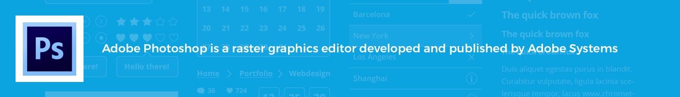 Free Adobe Photoshop UI Resources for UX UI Designers