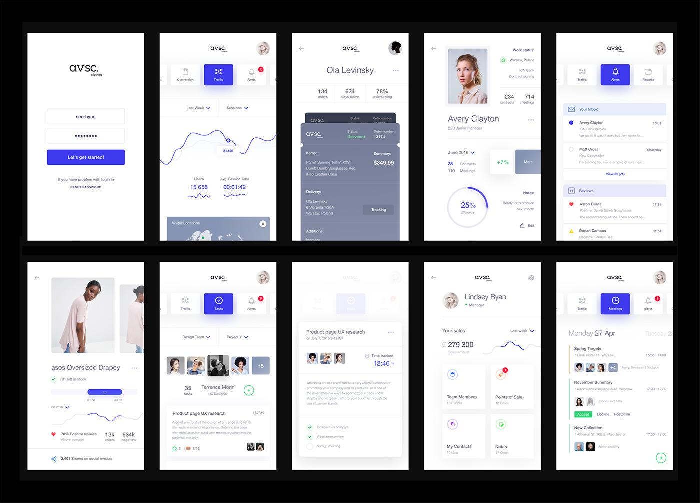 Fashion Design Template App