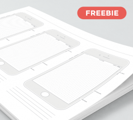 Free Printable iPhone 7 Template for iOS 10
