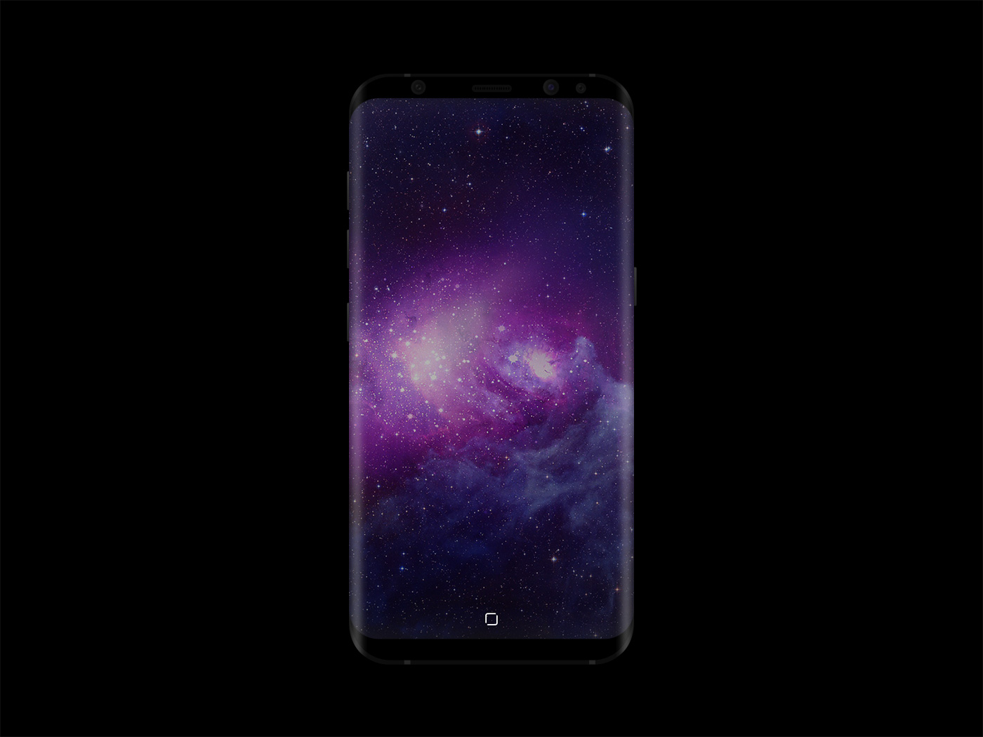 Samsung Galaxy S8 Mockup Free PSD - Front Device