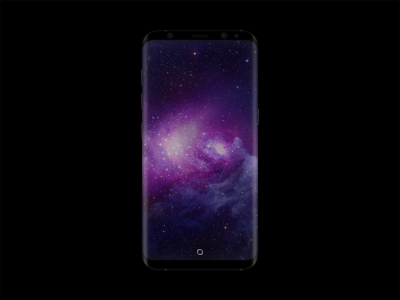 Samsung Galaxy S8 Mockup Free PSD - Front Device