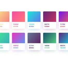 Gradient Color Palette for Sketch designers