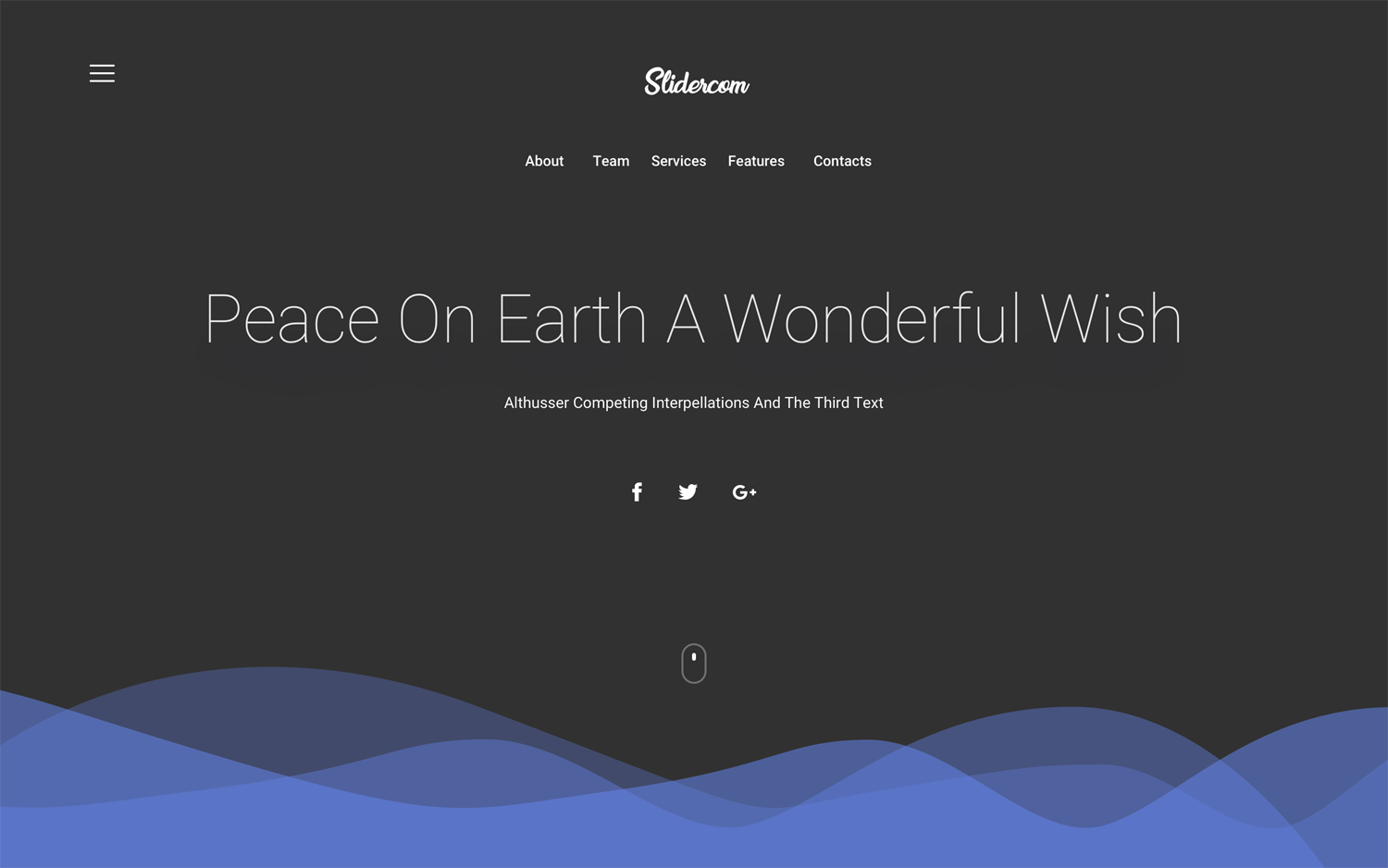4 Hero Headers for Web - Elegant and Clean Sketch Resource for Web Designers