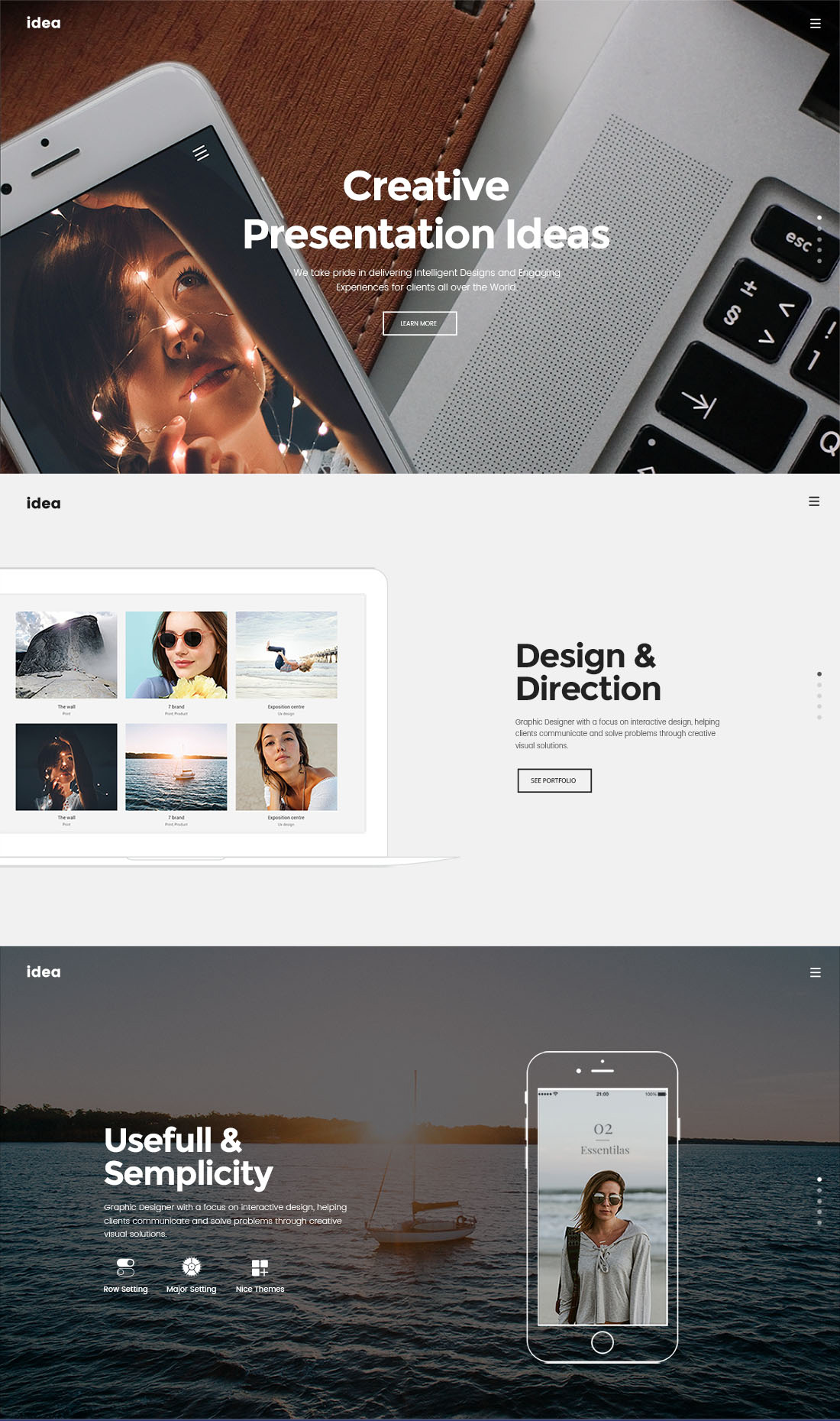Download for Free PSD Landing Page for Freelancers