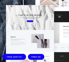 Xd Web Templates - Free hand-picked resources for websites - FreebiesUI
