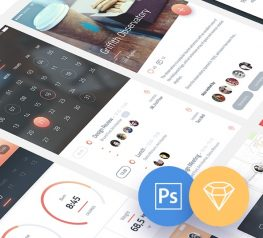 Pheonix vol 1 App Design UI Kit - Gradient colors free download