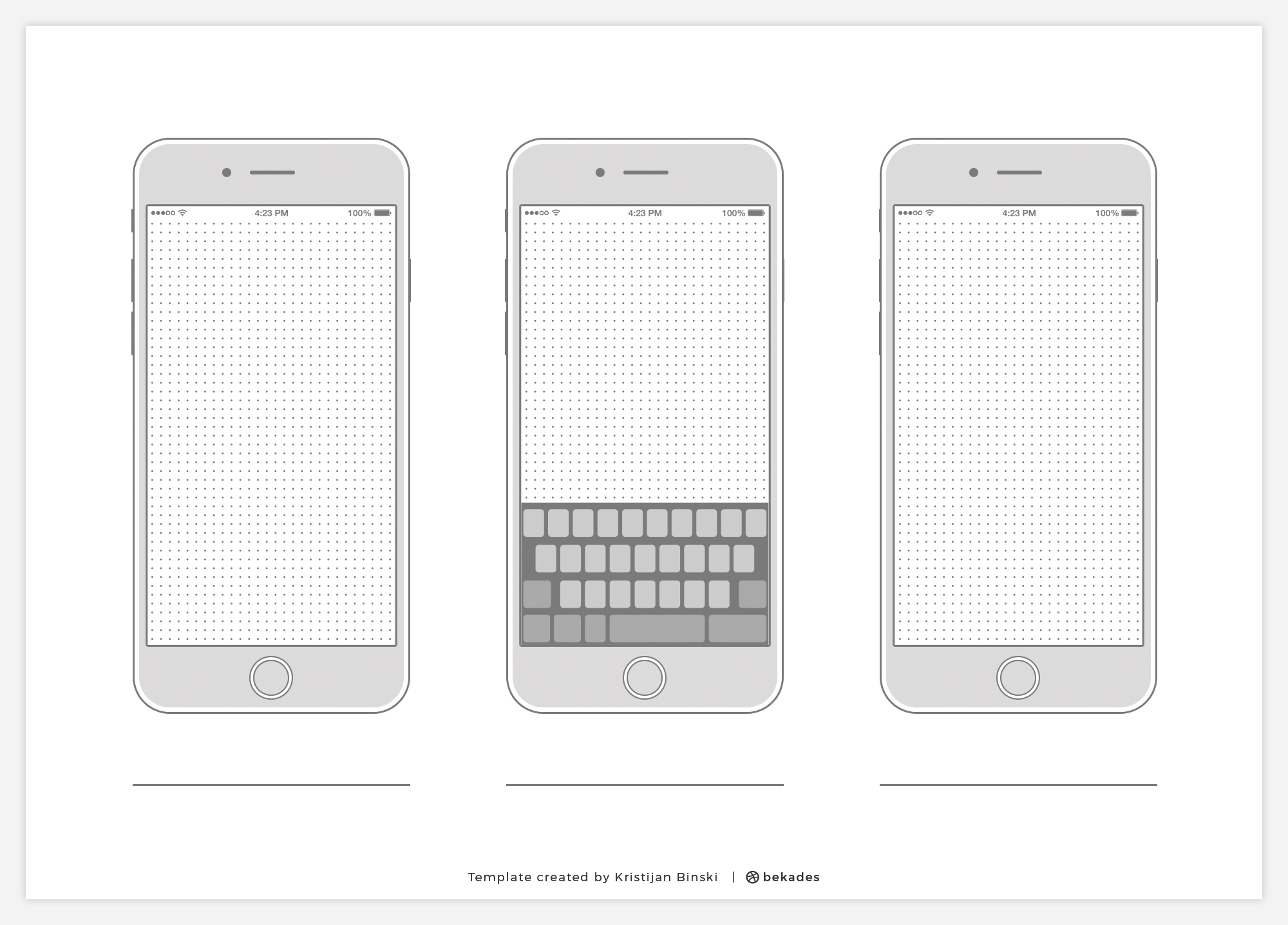 Wireframe Templates Collection - All major devices - Free Printable Resource