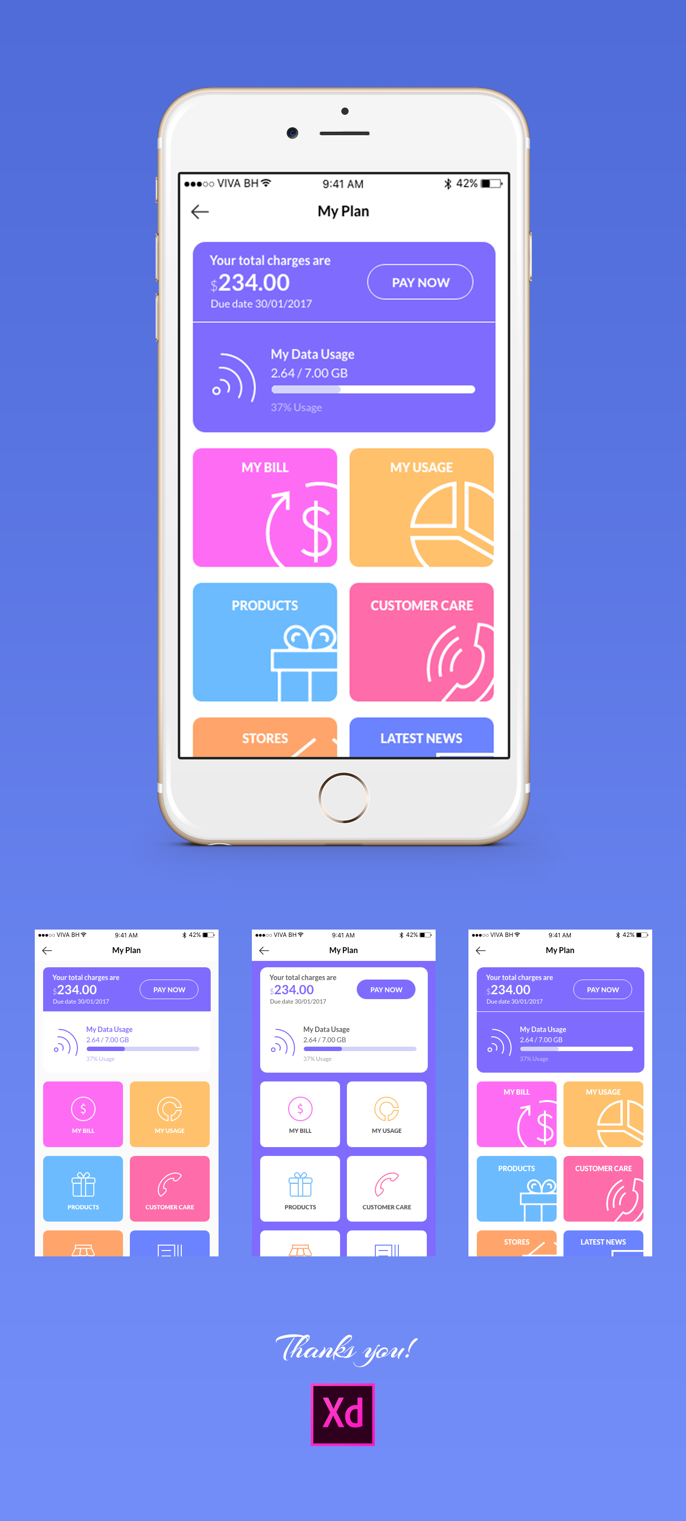 Adobe illustrator mobile app template free vector download.