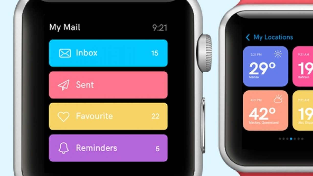 Apple Watch Design Concept- Free UI Kit for Adobe Xd