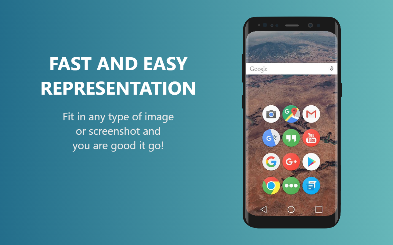 Galaxy S8 Device Mockup - Easy Presentation Mobile