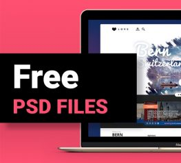 UI Experiment Free PSD File for UX Designers