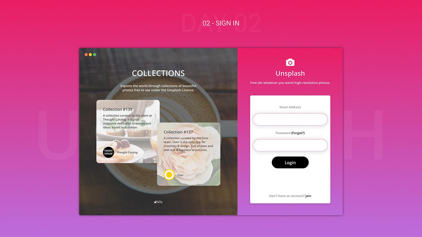 Free Figma UI Kit - Sign in