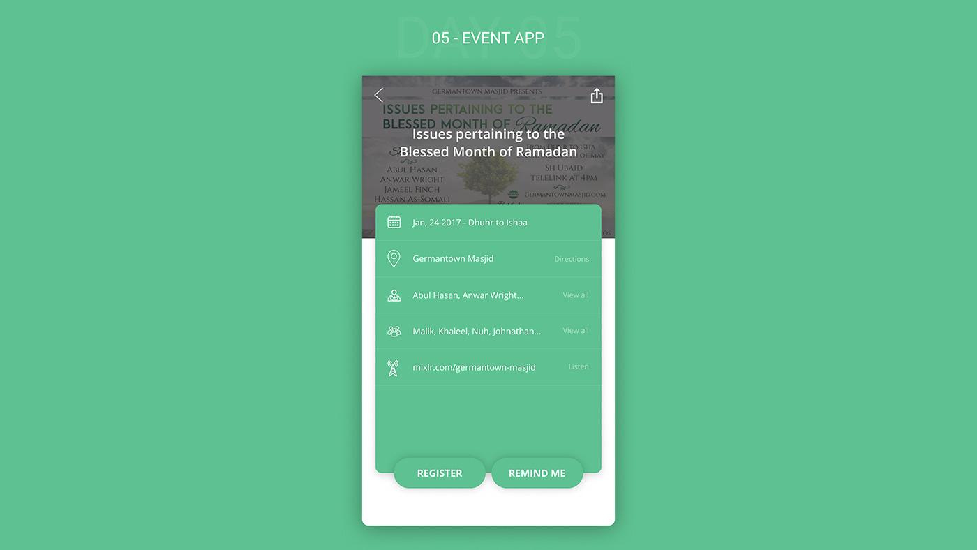 5-figma-free-ui-kit-event-app - FreebiesUI