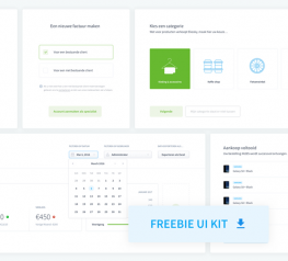 Dashboard UI elements Kit for Sketch