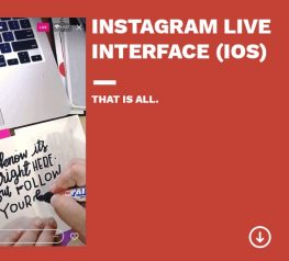 Instagram Live iOS Interface - Free PSD Resource - UI UX Designers