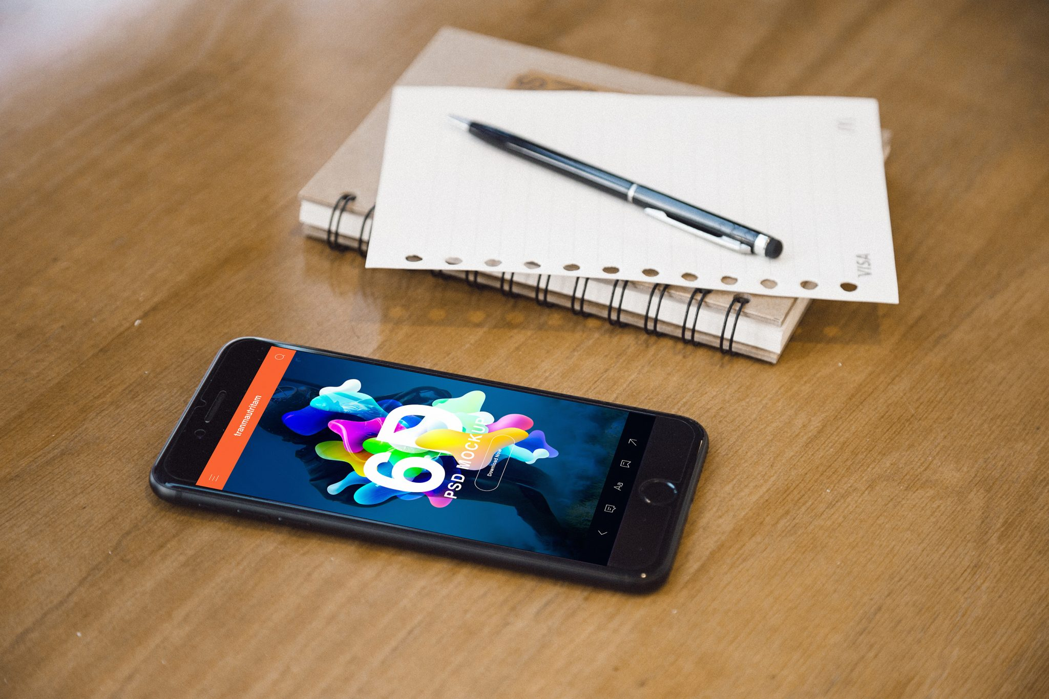 Realistic iPhone 7 Mockup for Photoshop - App Designers Resource