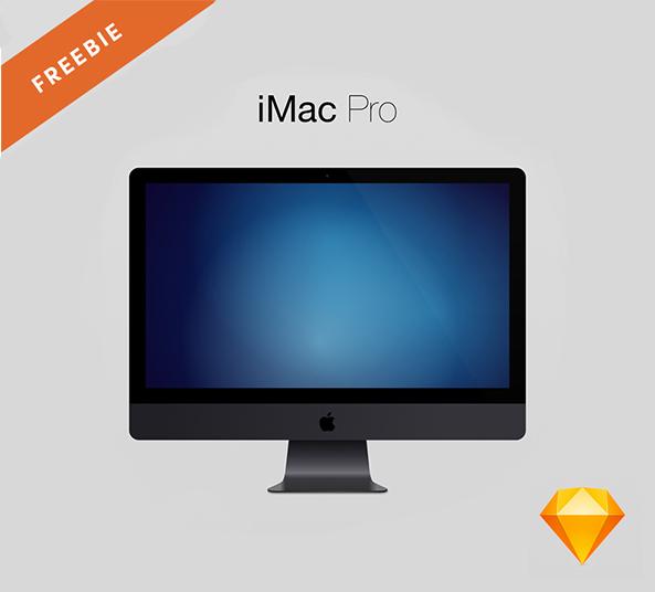 Imac Pro Free Mockup Sketch File Download Freebiesui