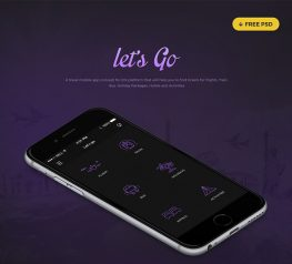 Let's Go Travel App Design