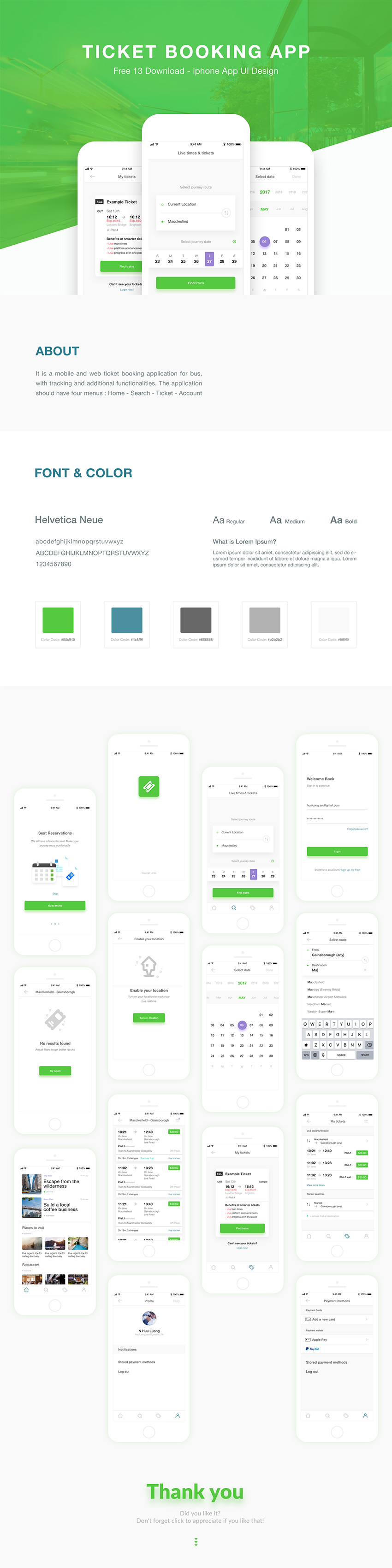 Ticket Booking App Design Ui Kit Free Xd Download Freebiesui