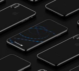 iPhone 8 Isometric Mockup v2