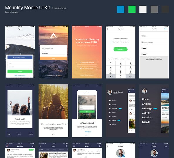 Download Mountify Free App Design
