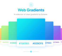 8 Free Simple Web Gradients for Designers