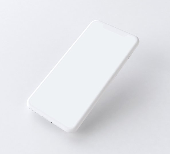 Iphone X White Mockup Free Psd Freebiesui