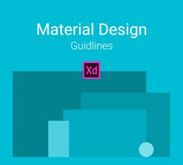 Basic Material Design Guidline for Android on XD