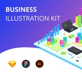Business Illustration UI Kit