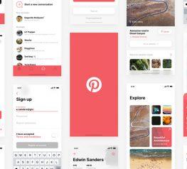 Pinterest App Design Concept