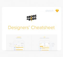 Designers' Cheatsheet for Sketch
