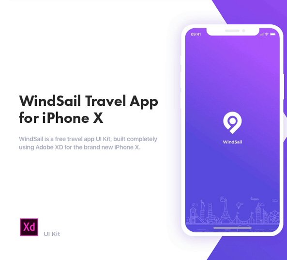 20 Creative Travel App Designs For Your Inspiration: 11 Free Screens For Adobe Xd