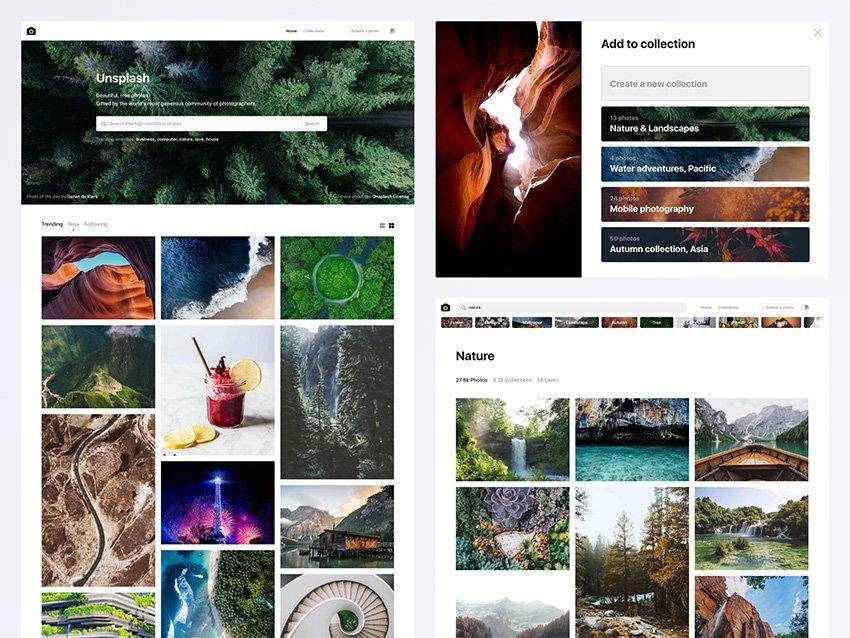 Light Unsplash Free Web Theme - Unsplash Free Web Template