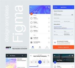 Figma Free Mobile & Web UI